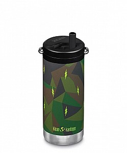KLEAN KANTEEN Insulated TKWide Twist Cap 355ml - Electric Camo